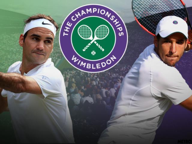 Trực tiếp tennis Wimbledon ngày 1: Federer săn cúp thứ 9, ra ngõ gặp cố nhân