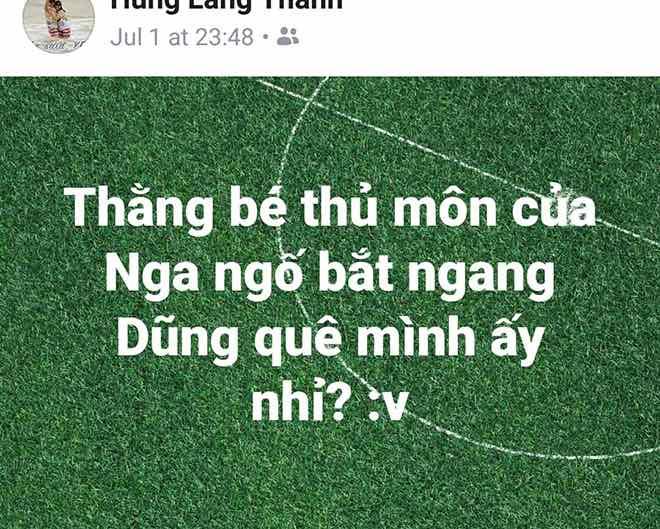 Dân mạng so sánh thủ môn tuyển Nga với Bùi Tiến Dũng của U23 Việt Nam - 1