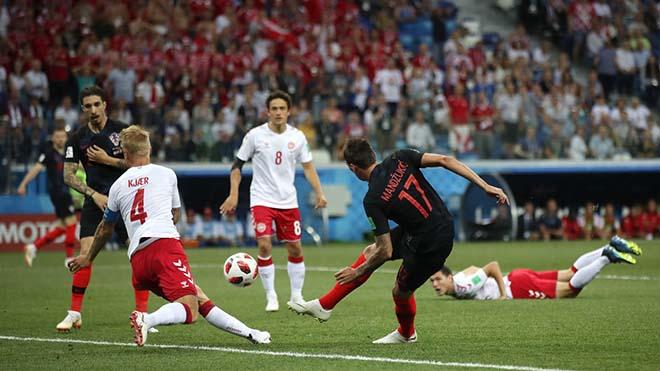 """World Cup, Croatia - Đan Mạch: 4 phút điên rồ, """"đấu súng"""" cân não - 1"""