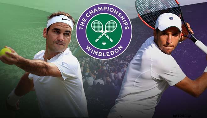 Federer - Lajovic: 3 set kinh hoàng (Vòng 1 Wimbledon) - 1