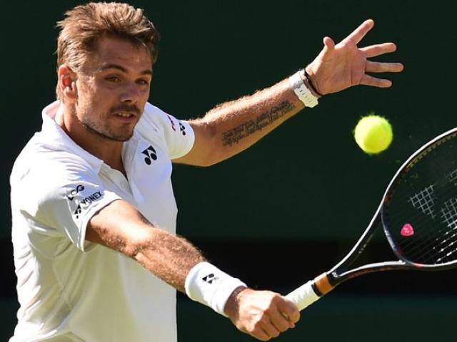 """Clip hot Wimbledon: Trái 1 tay bậc thầy, Wawrinka dạy Dimitrov """"3 bài học"""""""