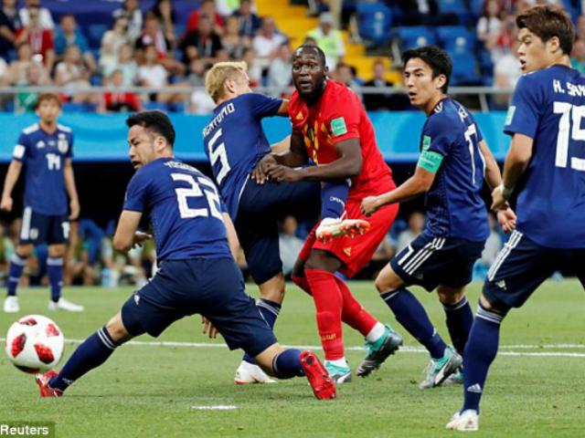 Video, kết quả bóng đá Bỉ - Nhật Bản: Tinh thần rực lửa, đua tài mãn nhãn (World Cup 2018) (H1)