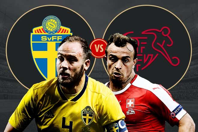 """World Cup, Thụy Điển - Thụy Sỹ: Truyền nhân Ibrahimovic đấu """"tiểu Messi"""" - 1"""