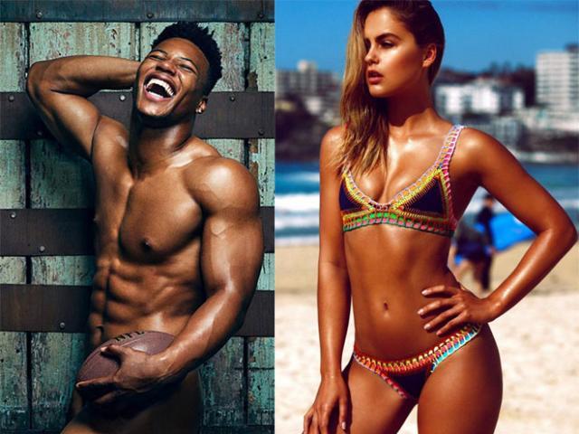 """Nam thần cơ bắp cuồn cuộn """"lột sạch 100%"""": Mỹ nhân bikini liền """"mời gọi"""""""