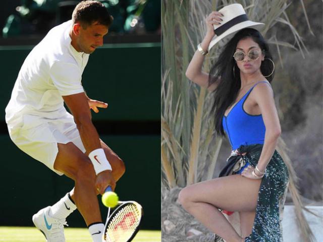 """""""Tiểu Federer"""" rời Wimbledon: Bồ xinh vẫn """"xõa"""" hết mình, mối tình sắp đổ vỡ?"""