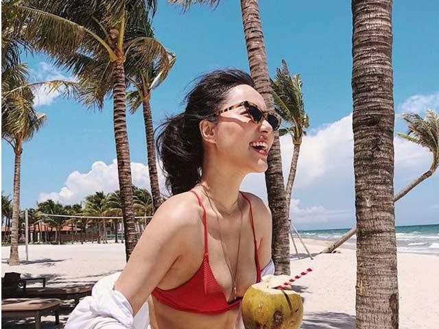 Đi biển đẹp như người mẫu Sài Gòn Hà Trúc