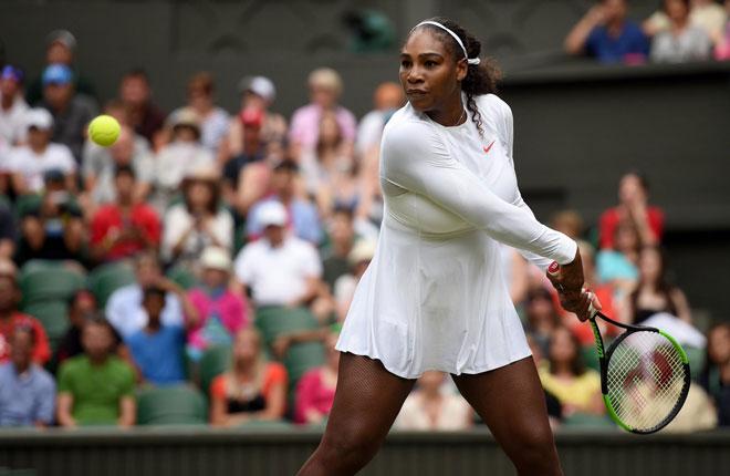 Serena Williams - Tomova: Sức mạnh tuyệt đối (Vòng 2 Wimbledon 2018) - 1