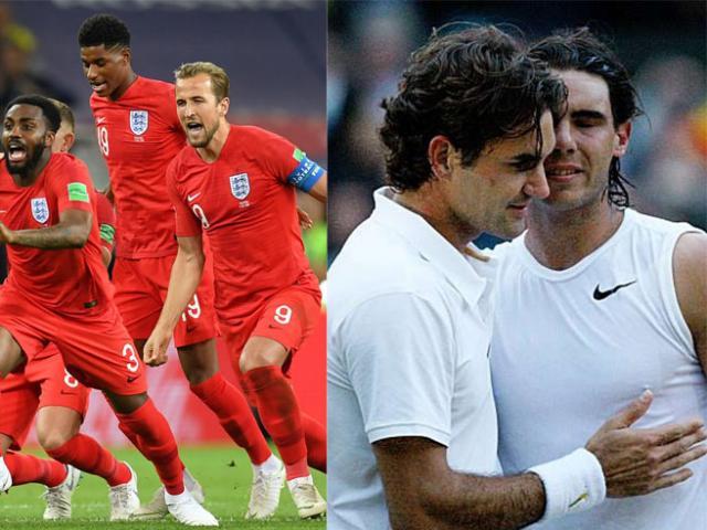 """Sốc World Cup """"xỏ lá"""" Wimbledon: Anh vào chung kết, ai xem Federer - Nadal"""