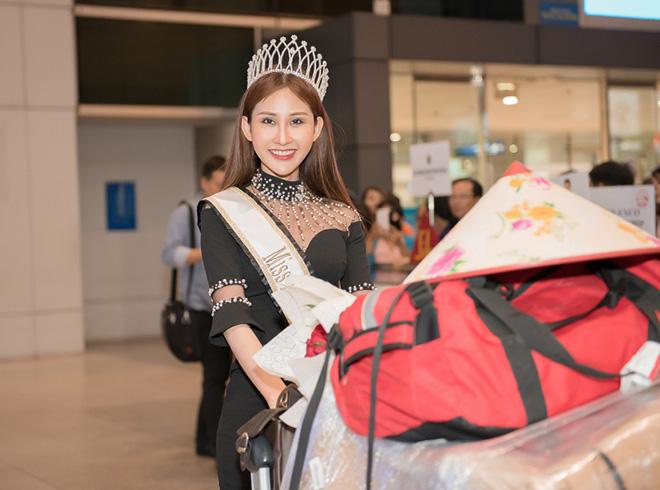 """""""Hoa hậu châu Á Thế giới"""" 2018 Chi Nguyễn hạnh phúc trong vòng tay fan - 1"""