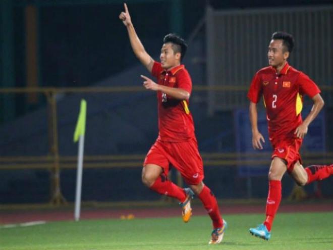 """U19 Việt Nam - U19 Lào: Sức mạnh kinh hoàng, 4 """"cú đấm"""" chí mạng - 1"""