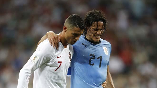 """World Cup, Uruguay - Pháp: """"Vua solo"""" Mbappe đấu """"vua tiểu xảo"""" Suarez - 1"""
