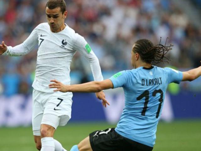 Uruguay - Pháp: Sức ép nghẹt thở, SAO Real rực sáng (World Cup 2018)