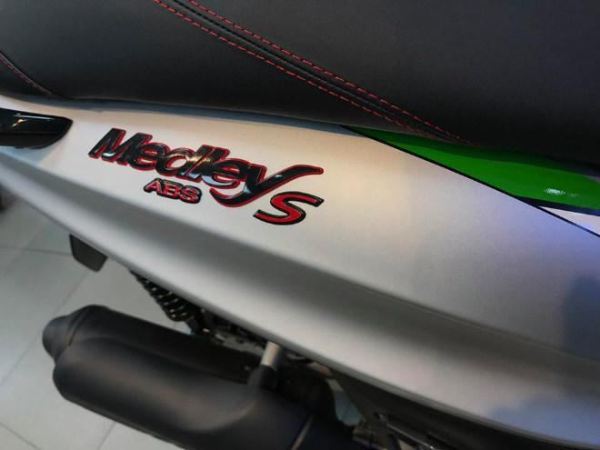 Đánh giá Piaggio Medley 2018: Nỗi ám ảnh bủa vây Honda SH - 10
