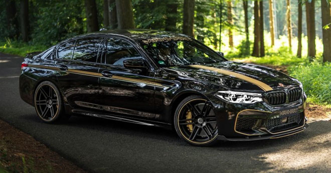 Hãng độ Đức nâng cấp BMW M5 mạnh hơn 700 mã lực - 1