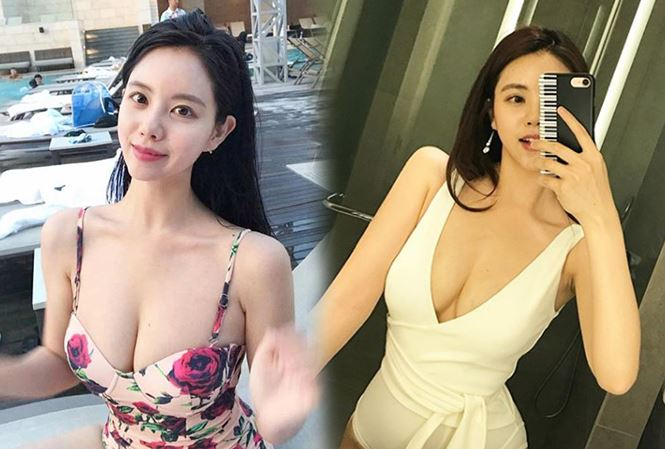 """""""Chết mê"""" với vòng 1 khủng của nữ thần dương cầm Hàn Quốc - 1"""