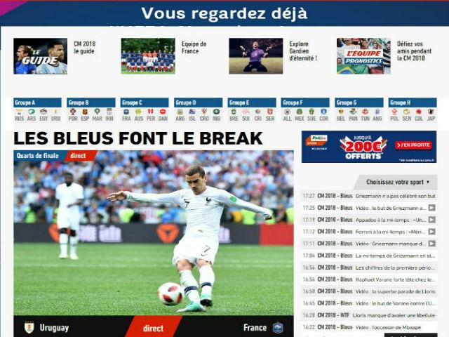 ĐT Pháp vào bán kết World Cup: Báo chí mơ cúp vàng, ca ngợi dàn sao tỷ euro