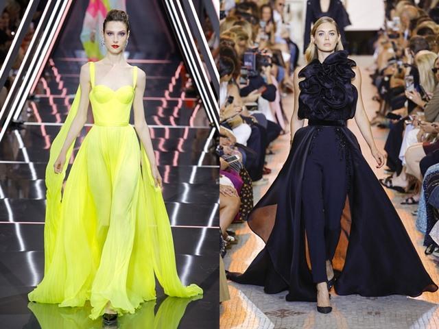 Những bộ cánh xứng danh tuyệt tác trên sàn Haute Couture Thu 2018