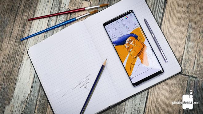 """Bút S Pen trên Galaxy Note 9 sẽ là cao thủ """"bất bại"""" - 1"""
