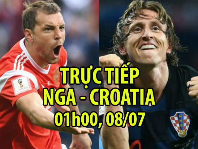 Trực tiếp bóng đá World Cup Nga - Croatia: Hỏa lực mạnh nhất, tự tin dâng cao