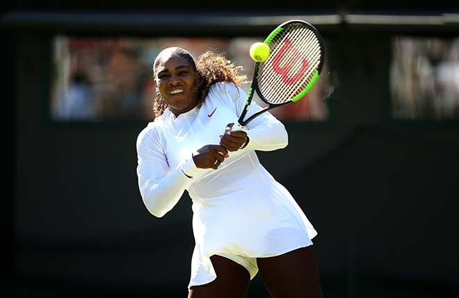 Serena - Mladenovic: Tie-break nghẹt thở, 2 set thần sầu (V3 Wimbledon) - 1
