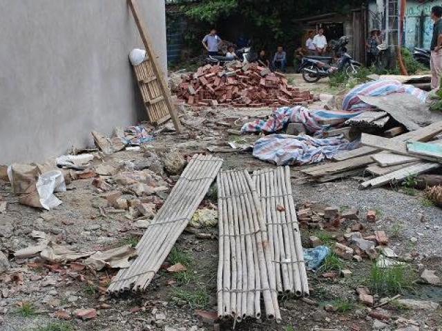 Sập giàn giáo, 2 thợ xây rơi từ tầng cao tử vong