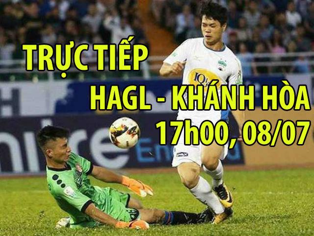 Trực tiếp HAGL - Khánh Hòa: Đội khách suýt có bàn thứ 5 (KT)