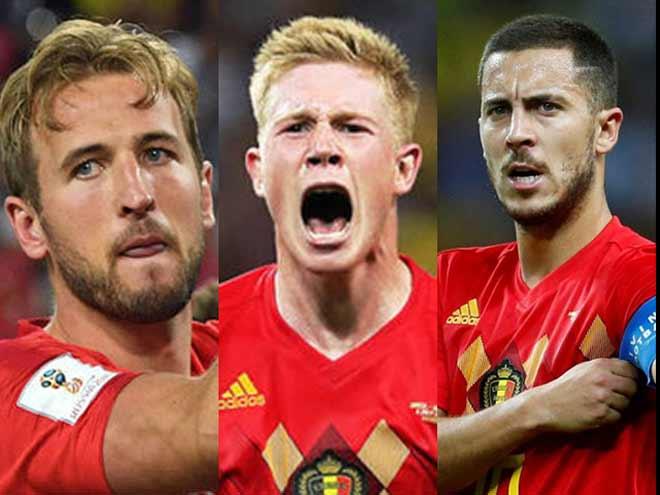 "SAO lên đời World Cup: Kane & De Bruyne áp sát Messi, Ronaldo ""hít khói"" Hazard - 1"