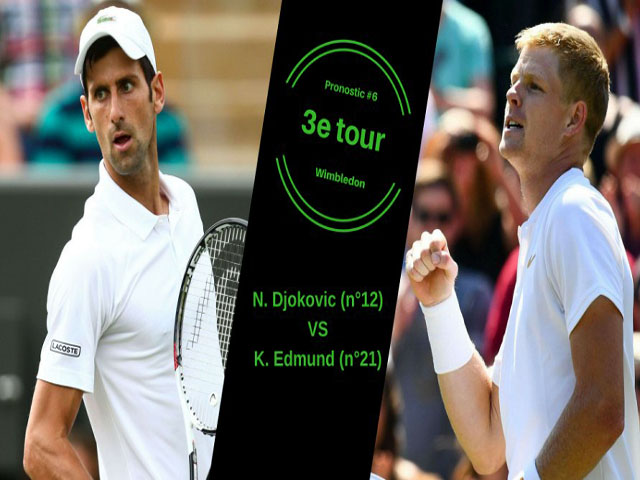 Djokovic - Edmund: 3 giờ kịch chiến, 4 set định đoạt (Vòng 3 Wimbledon)