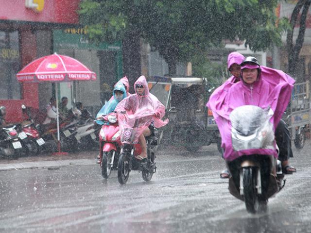 Vì sao nắng nóng điên cuồng vừa dứt, miền Bắc lại mưa như trút nước?