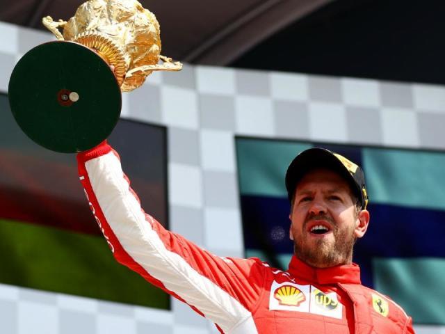 """Bảng xếp hạng F1 - British GP: Lần thứ 2 ngọt ngào, Vettel """"cắt đuôi"""" Hamilton"""
