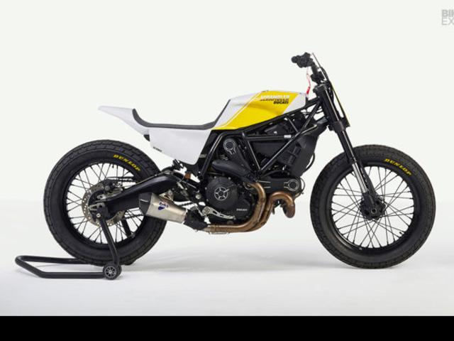 """Ducati Scrambler hóa """"dũng sĩ"""" đường đua"""