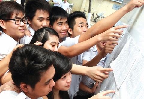 Điểm chuẩn 2018 của các trường ĐH top trên dự kiến là bao nhiêu? - 1