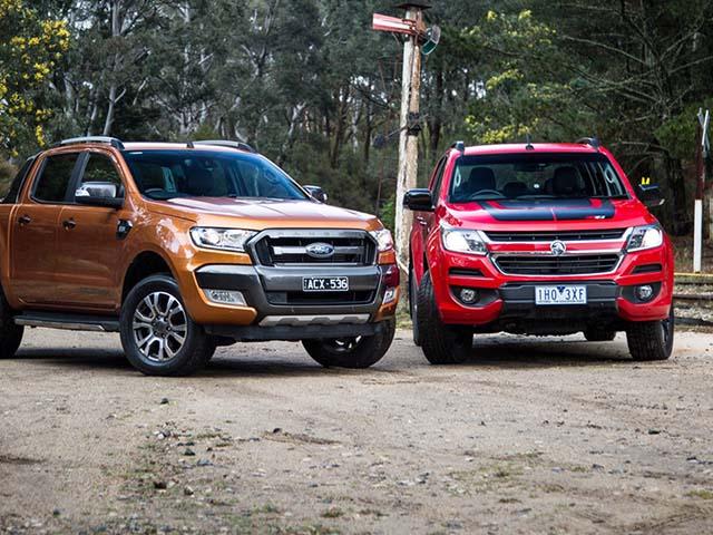 So sánh Ford Ranger 2.2 XLS và Chevrolet Colorado 2.5 VGT : Phiên bản một cầu số tự động giá rẻ