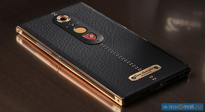 Đánh giá smartphone siêu sang Tonino Lamborghini Alpha One - 3