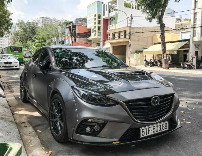 """Mazda 3 độ """"cực chất"""" dưới bàn tay của thợ Sài Gòn - 2"""