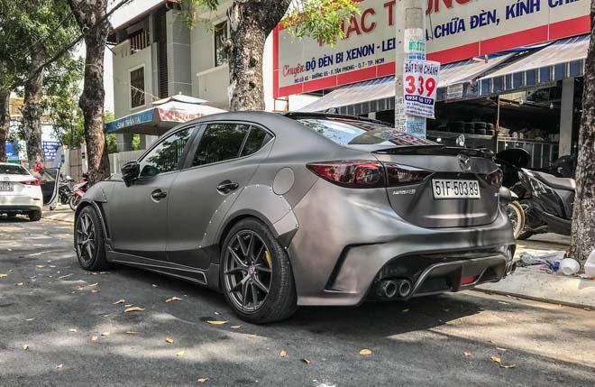"""Mazda 3 độ """"cực chất"""" dưới bàn tay của thợ Sài Gòn - 3"""