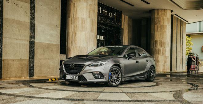 """Mazda 3 độ """"cực chất"""" dưới bàn tay của thợ Sài Gòn - 1"""