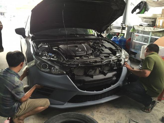 """Mazda 3 độ """"cực chất"""" dưới bàn tay của thợ Sài Gòn - 10"""