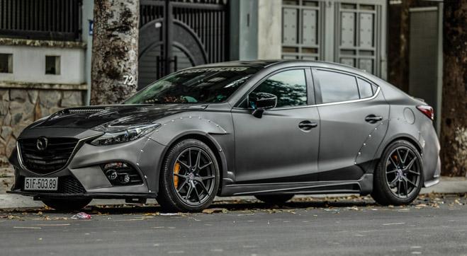 """Mazda 3 độ """"cực chất"""" dưới bàn tay của thợ Sài Gòn - 4"""