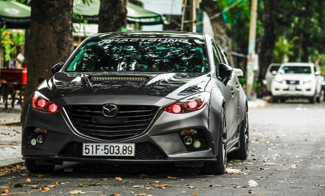 """Mazda 3 độ """"cực chất"""" dưới bàn tay của thợ Sài Gòn - 5"""