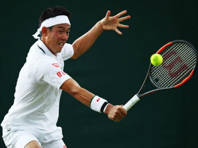 Wimbledon ngày 7: Nishikori ngược dòng 2 màn đấu súng
