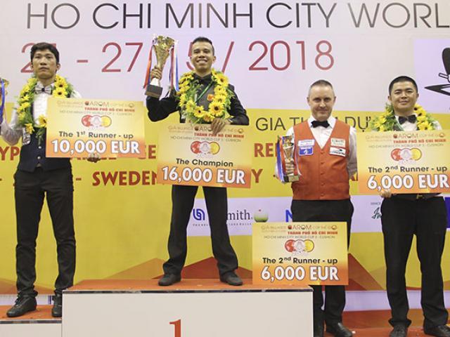 SAO Việt vô địch bi-a World Cup xuất ngoại: Đụng cao thủ săn cúp 900 triệu VNĐ