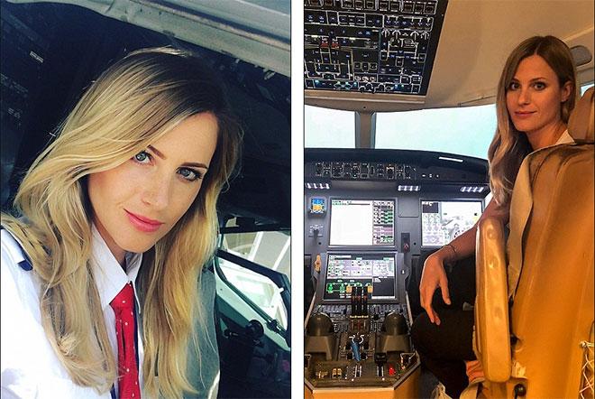 Cô gái làm tóc đã trở thành nữ phi công nổi tiếng như thế nào! - 1