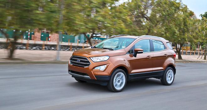 So sánh Ford Ecosport 2018 và Honda HR-V 2018: Tân binh liệu có làm nên chuyện? - 12