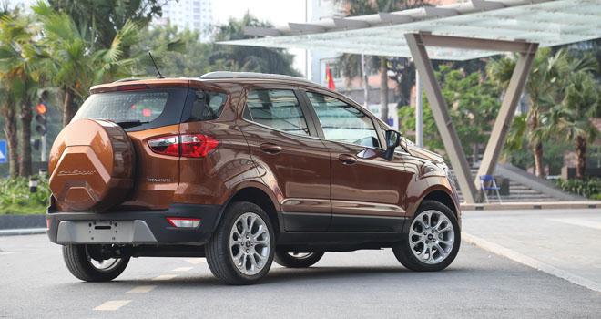 So sánh Ford Ecosport 2018 và Honda HR-V 2018: Tân binh liệu có làm nên chuyện? - 3