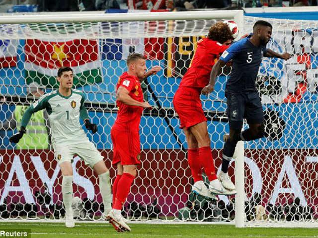 """Bùng nổ bán kết World Cup: Nhân tố MU sai lầm, Pháp điểm huyệt """"Quỷ đỏ"""""""