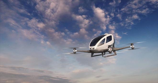 Lầu Năm Góc hứng thú với các dự án taxi bay phục vụ quân sự - 1