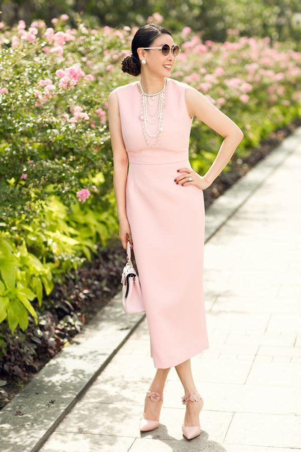 Hoa hậu Hà Kiều Anh thon gọn bất ngờ khi ép cân thành công - hình ảnh 5