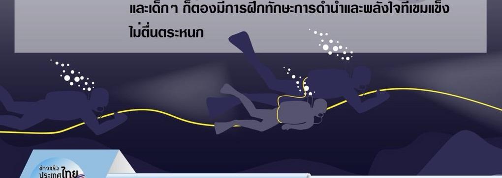 Video cho thấy các cậu bé Thái Lan không tự lặn mà được cứu bằng cáng? - 1