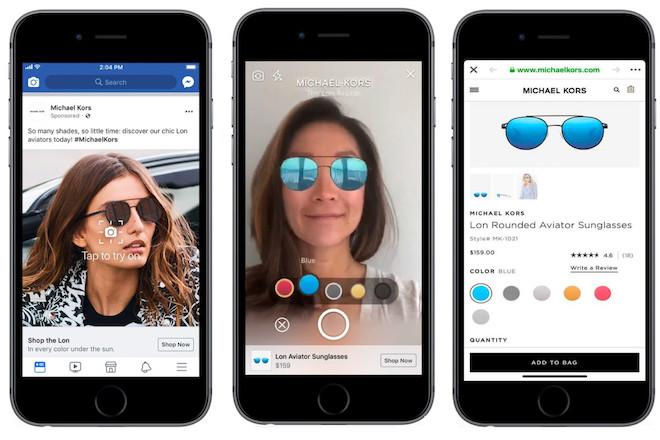 Công nghệ AR sẽ biến Facebook thành phòng thử đồ tại gia - 1